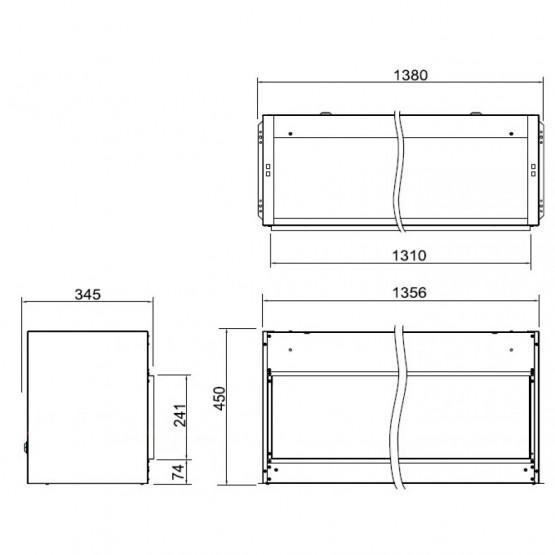 dimplex opti v pgf 20 av kamin. Black Bedroom Furniture Sets. Home Design Ideas