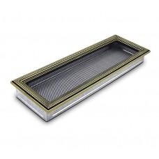 Вентиляционная решетка 4Fire (ротан серебряный) 17х50см
