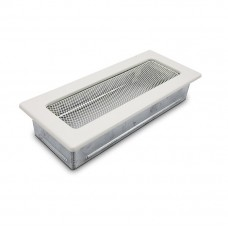 Вентиляционная решетка 4Fire белая 10,5х25 см