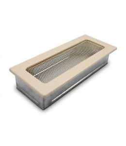 Вентиляционная решетка бежевая 11х24 см