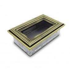 Вентиляционная решетка 4Fire ретро ротан 17х11 см