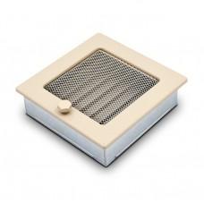 Вентиляционная решетка 4Fire бежевая 17х17 см с жалюзи