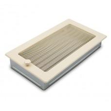 Вентиляционная решетка 4Fire бежевая 17х30 см с жалюзи