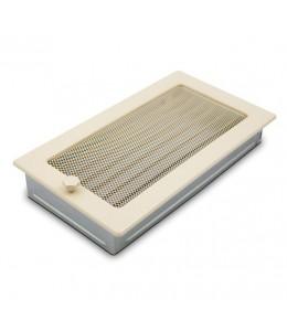 Вентиляционная решетка бежевая 17х30 см с жалюзи