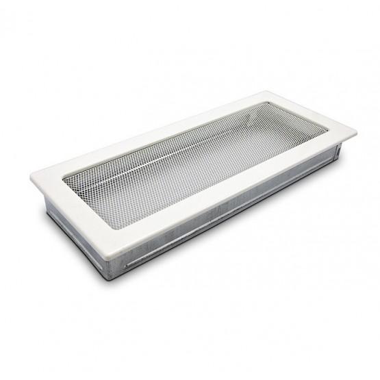 Вентиляционная решетка  белая 17х37 см