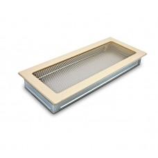 Вентиляционная решетка 4Fire бежевая 17х40 см
