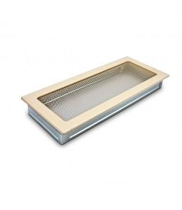 Вентиляционная решетка бежевая 17х37 см