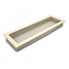 Вентиляционная решетка 4Fire бежевая 17х50 см