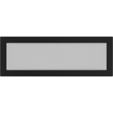 Вентиляционная решетка  17х49см черная